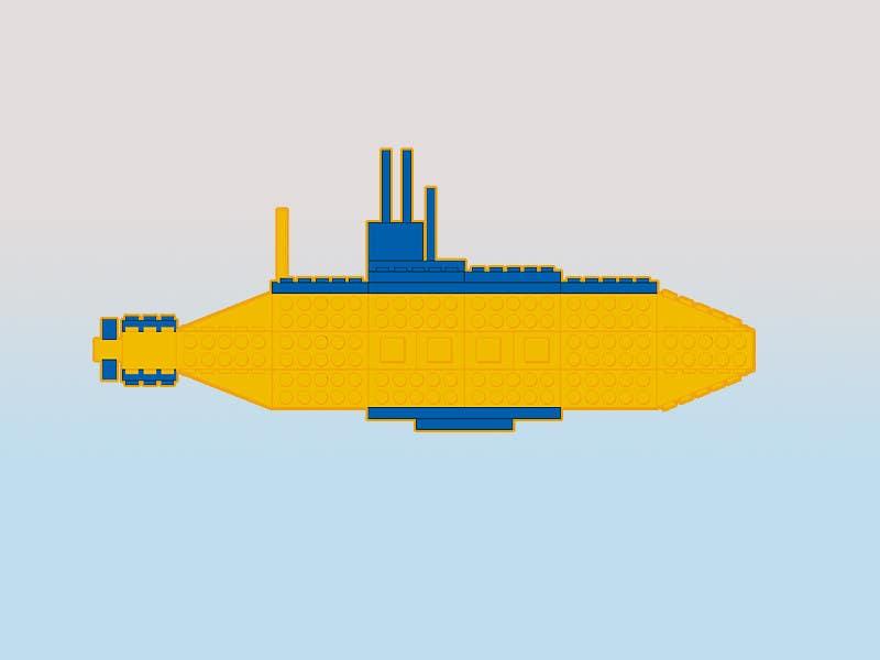 Inscrição nº 10 do Concurso para Lego Submarine Graphic Design 2D