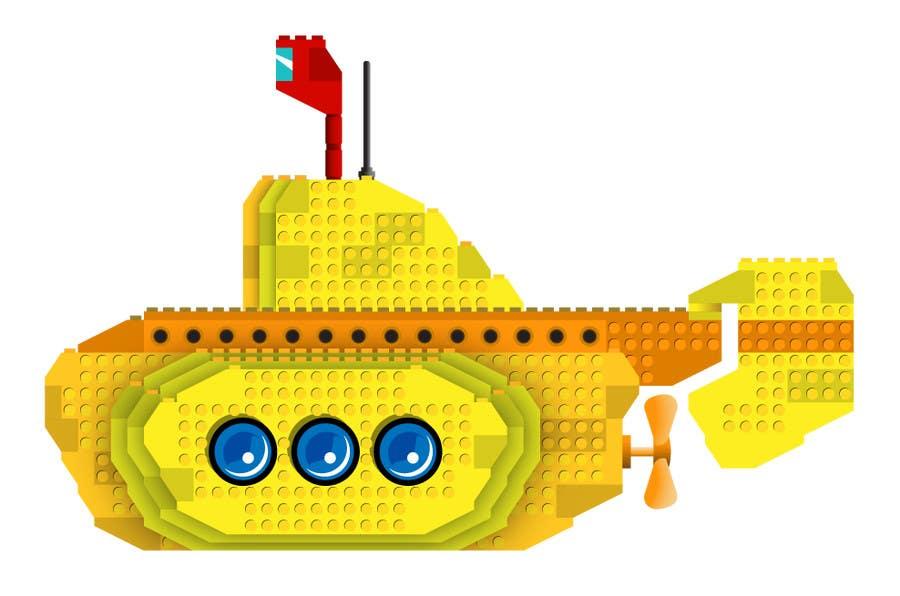 Inscrição nº 21 do Concurso para Lego Submarine Graphic Design 2D