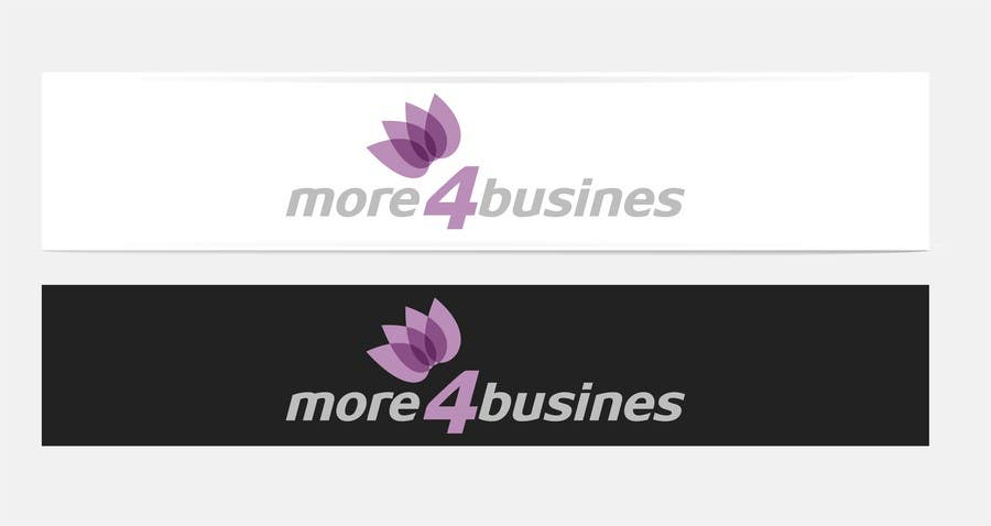 #25 for Design a Logo for More 4 Business by erupt