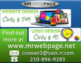 #3 for Small Flyer Design - MrWeb by andrei11