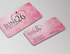 #20 untuk Gifts & Jewellery Couple Store 2 Business Card Design oleh mbewlive