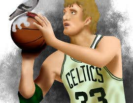 #6 para I need some Graphic Design to create an avatar for my Online ID: 'Larry Bird Droppings' por Maltrex