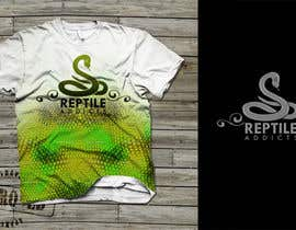 #19 untuk Design a T-Shirt for Reptile Addicts oleh carlamartire