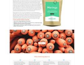 Nro 21 kilpailuun Design a WordPress Mockup for health site käyttäjältä kristinay
