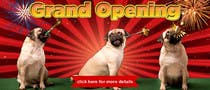 Design a Banner for grand opening için 8 numaralı Graphic Design Yarışma Girdisi