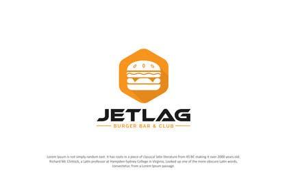 designpoint52 tarafından Design a Logo for Jetlag Burger Bar & Club için no 65
