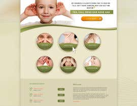 nº 33 pour Design a Website Mockup for my Doctor client par Artimization