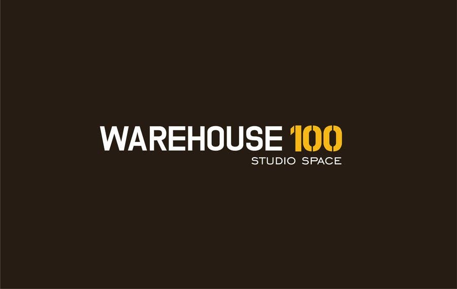 Proposition n°33 du concours Design a Logo for Warehouse 100 (Studio Space)