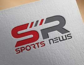 Nro 261 kilpailuun Sports News Logo käyttäjältä SajibAM
