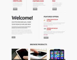 #8 para Ontwerp een Website Mockup for repair site por preside