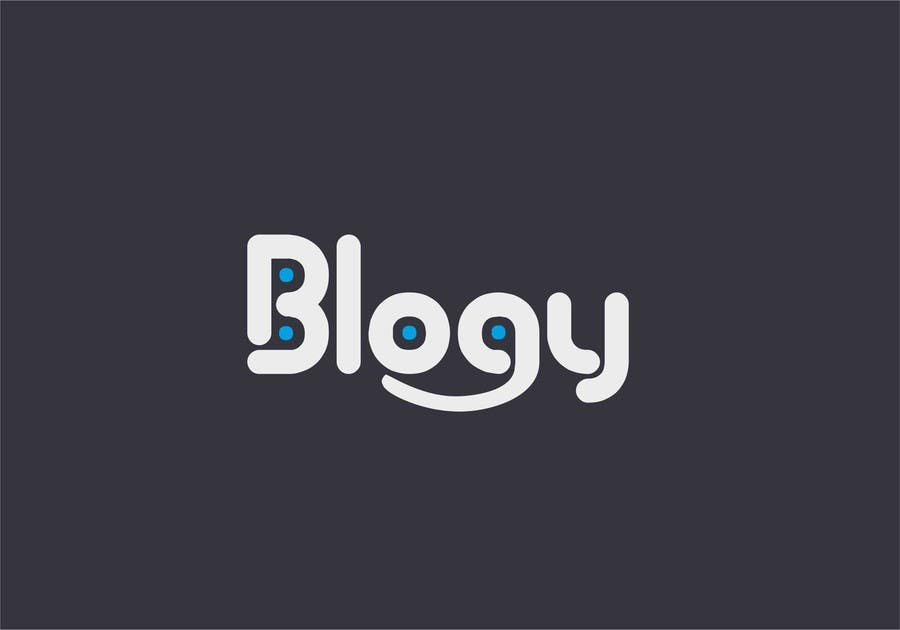 #6 for Blogy Logo Design by zvercat27