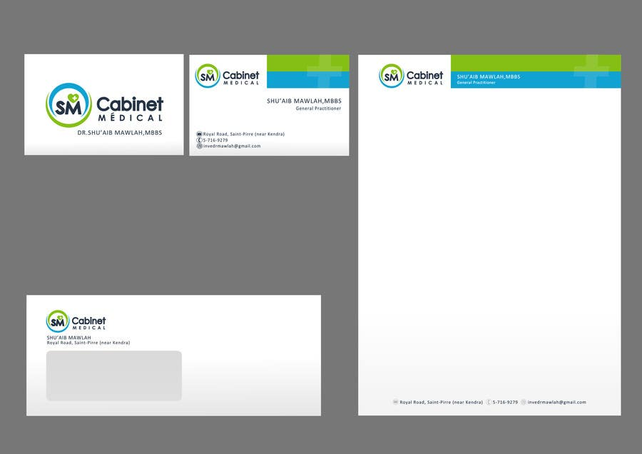 #58 for Corporate Identity/ Branding for Medical Practice/ Doctor by catalinorzan