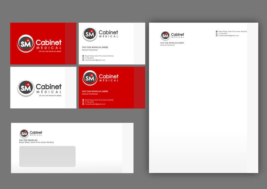 #60 for Corporate Identity/ Branding for Medical Practice/ Doctor by catalinorzan