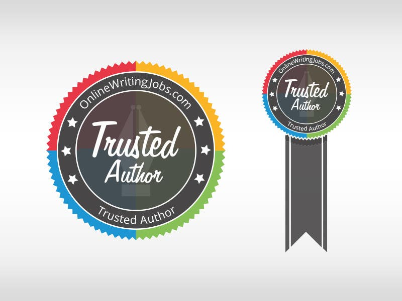#31 for Design a Trusted Writer Badge by SpeedDreaming