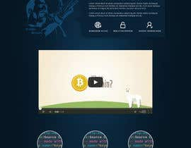 nº 9 pour Design a Website Mockup for Cryptocurrency Project par MiNdfr34k