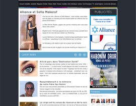 #3 para Conception graphique site web alliancefr.com por nole1