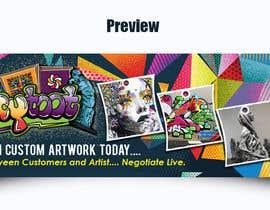 AkshayVerma9 tarafından Banner for Artist Website için no 20