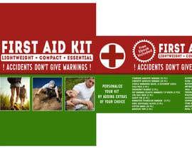Nro 3 kilpailuun First Aid Kit Print and Packaging Designs käyttäjältä GeriPapp