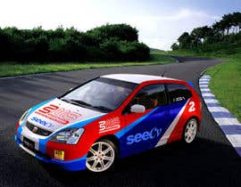 #3 untuk Illustrate Something for Rally Car Wrap oleh fridaytwins