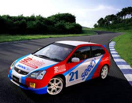 #13 untuk Illustrate Something for Rally Car Wrap oleh fridaytwins