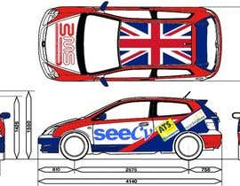 #4 untuk Illustrate Something for Rally Car Wrap oleh moro2707