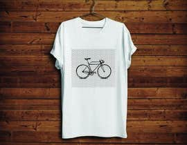 KononikhinaN tarafından 1 color Trendy Cool Hipster Alternative Bicycle T-Shirt Design(s) için no 7