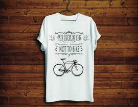KononikhinaN tarafından 1 color Trendy Cool Hipster Alternative Bicycle T-Shirt Design(s) için no 17