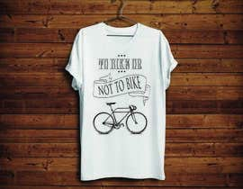 KononikhinaN tarafından 1 color Trendy Cool Hipster Alternative Bicycle T-Shirt Design(s) için no 18