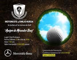 Nro 11 kilpailuun Design an Invitation to a golf tournament käyttäjältä AmmarElramsisy