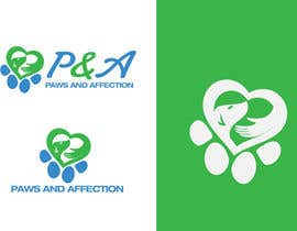 "ryanhortizuela tarafından Design a Logo for ""Paws and Affection"" için no 24"