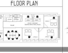 zoranaelek tarafından Office floor plan and furniture layout için no 14