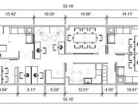josereinozo tarafından Office floor plan and furniture layout için no 11