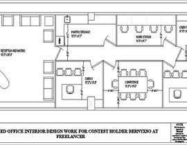Gulmehek tarafından Office floor plan and furniture layout için no 28