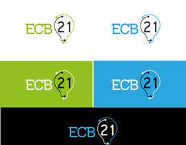 #37 for Ontwerp a Logo for ecb21 - repost af Asifrbraj