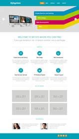 #6 para Design a Landing Page Mockup por zicmedia