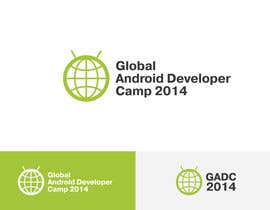 nº 52 pour Design a Logo for Global Android Developer Camp 2014 par zarzhetsky