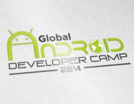 nº 16 pour Design a Logo for Global Android Developer Camp 2014 par alexisbigcas11