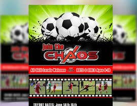 nº 33 pour Design an Flyer for Soccer Tryouts / Sign ups REVISED - repost par maq123