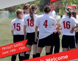 #9 cho Design an Flyer for Soccer Tryouts / Sign ups REVISED - repost bởi Aleshander