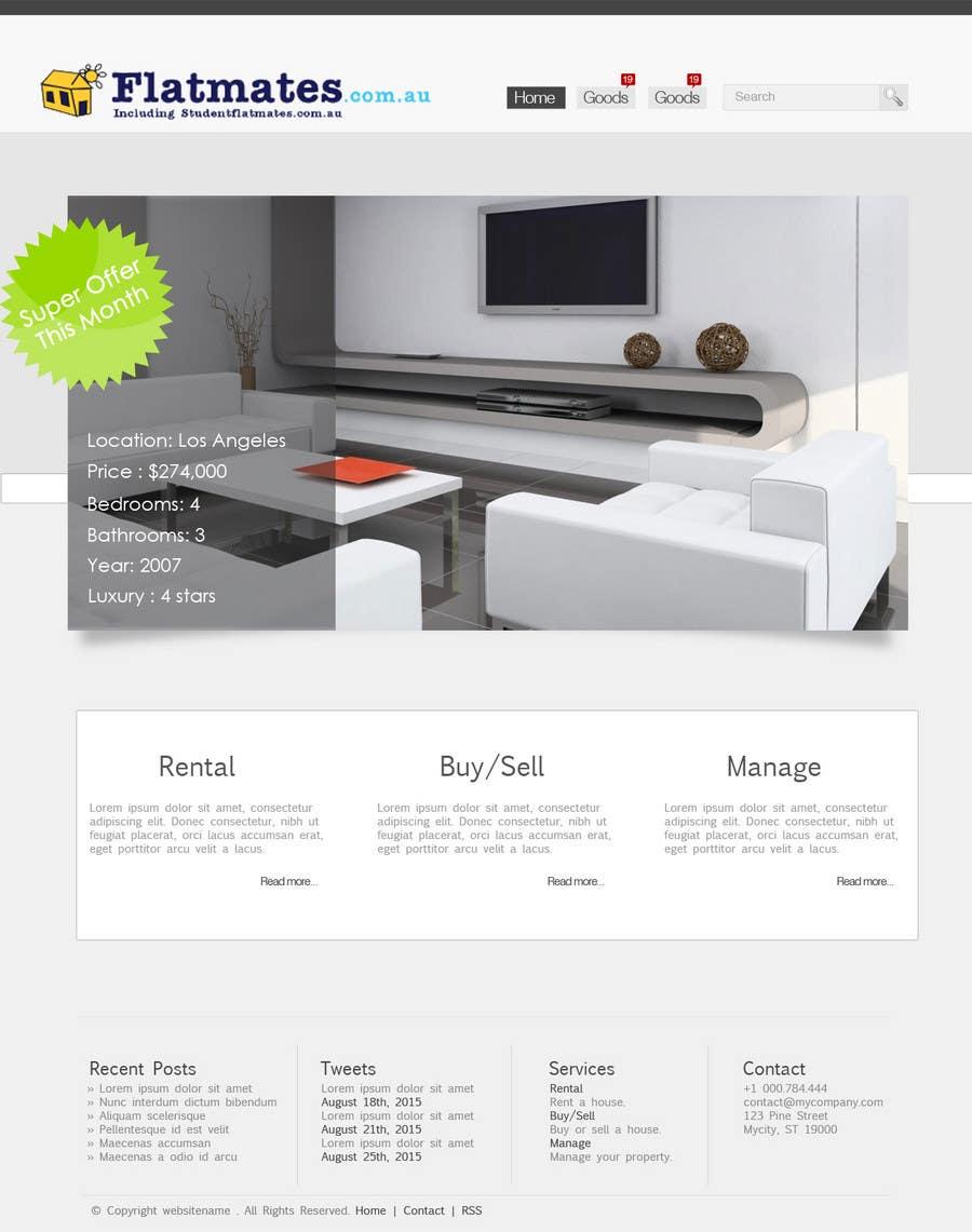Inscrição nº                                         16                                      do Concurso para                                         Graphic Design for The business is called 'FindAFlat.com.au'