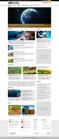 abcdNd tarafından Design a Website Mockup for News Site için no 12
