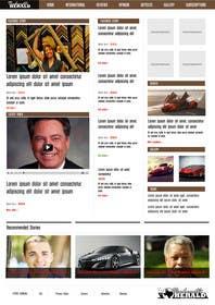 zicmedia tarafından Design a Website Mockup for News Site için no 3