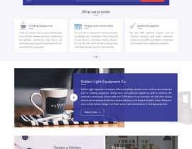 Nro 10 kilpailuun Design a Website Mockup for Restaurant Equipment Site käyttäjältä nizagen