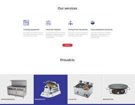 creative423 tarafından Design a Website Mockup for Restaurant Equipment Site için no 14