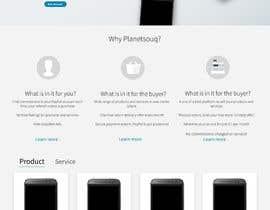 MedusaCode tarafından home landing page svg png design website UX UI designer için no 54