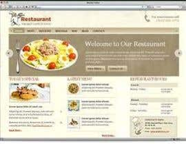 #24 untuk Build a Website for restaurants oleh JeevanKoju