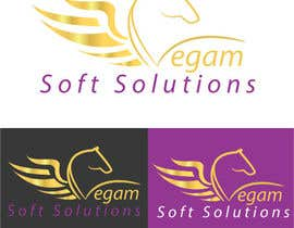 #67 para Design a Logo for Vegam Soft Solutions por arkwebsolutions