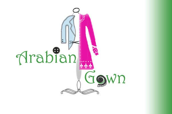 #85 for Logo Design for Arabian Gown by sachitnaik