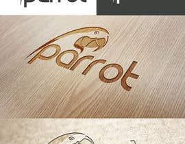 Nro 105 kilpailuun Logo for Parrot App käyttäjältä sreesiddhartha