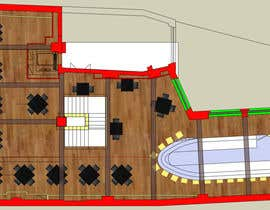 olsiad tarafından Please think a best floor plan for a new restaurant ( no Design) için no 8